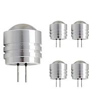 1W LED betűzős izzók T 1 Nagyteljesítményű LED 90 lm Meleg fehér Hideg fehér DC 12 V 1 db. G4