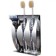 お買い得  浴室用小物-歯ブラシホルダー 高品質 ステンレス鋼 1枚 - ホテルバス
