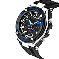 billige -SANDA Herre Moteklokke Armbåndsur Unike kreative Watch Hverdagsklokke Sportsklokke Militærklokke Digital Kalender Vannavvisende
