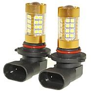 abordables -SENCART 2pcs 9005 Automatique Ampoules électriques 36W SMD 3030 1500-1800lm Ampoules LED Feu Antibrouillard