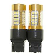 Недорогие Внешние огни для авто-Sencart 2pcs 7440 w21w w3x16d мигающая лампочка светодиодный фонарик автомобиля поворота заднего фонаря (белый / красный / синий / теплый