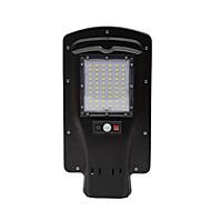 30w kırsal ev güneş led uzaktan kumanda sokak lambası gövde sensörü sokak lambası