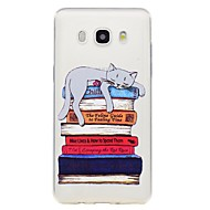 Case For Samsung Galaxy J7 2017 J5 2017 Phone Case Cat Pattern Emboss Soft TPU Material Phone Case J3 2017 J710 J510 J310 J3