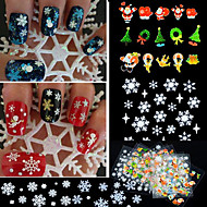 24 Nagelkunst sticker Other make-up Cosmetische Nagelkunst ontwerp
