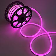 voordelige LED-verlichtingsstrips-10W Flexibele LED-verlichtingsstrips 1000 AC220 1m 120 leds Warm Wit Wit Rood Geel Blauw Groen Roze