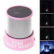 Starry Night Light LED Lighting Projector Lamp Toys ABS Romantic 1 Pieces Kid Gift