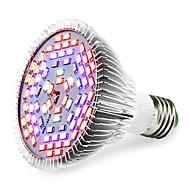 E27 Luces LED para Crecimiento Vegetal 78 SMD 5730 2500-3200 lm Blanco Cálido Rojo Azul UV (Luz Negra) K V