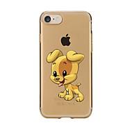 Недорогие Сегодняшнее предложение-Чехол для iphone 7 6 собака tpu мягкая ультратонкая задняя крышка чехол iphone 7 плюс 6 6s плюс se 5s 5 5c 4s 4