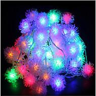10m 60led rgb Crăciun de vacanță șir de lumină nunta petrecere decorare cortina lumina 220v