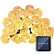 billige LED-kædelys-HKV Lysslynger 30 lysdioder Varm hvid Hvid Vandtæt DC 5V Jævnstrøm5