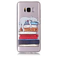 Недорогие Чехлы и кейсы для Galaxy S8-Кейс для Назначение SSamsung Galaxy S8 Plus S8 С узором Кейс на заднюю панель Кот Мягкий ТПУ для S8 Plus S8 S7 edge S7 S6 edge S6