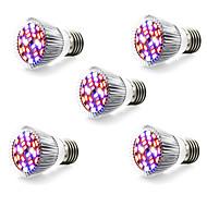 halpa Kasvivalaisimet-5W 800 lm E14 GU10 E27 Kasvavat valonheittimet 28 ledit SMD 5730 Lämmin valkoinen Valkoinen Punainen Sininen AC 85-265V