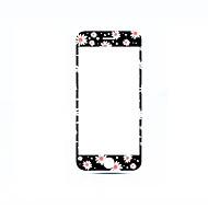 Недорогие Защитные плёнки для экрана iPhone-Защитная плёнка для экрана Apple для iPhone 7 Закаленное стекло 1 ед. Защитная пленка на всё устройство 3D закругленные углы Защита от