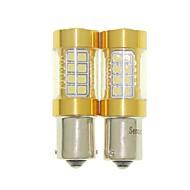 abordables -SENCART 2pcs BAU15S Automatique Ampoules électriques 36W SMD 3030 1500-1800lm Ampoules LED Clignotants