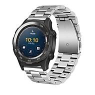 billiga Klockarmband till Huawei-Klockarmband för Huawei Watch 2 Huawei Modernt spänne Rostfritt stål Handledsrem