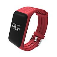 abordables Tendencias actuales de la tecnología-Pulsera inteligente K1 para iOS / Android Monitor de Pulso Cardiaco / Calorías Quemadas / Standby Largo / Pantalla Táctil / Resistente al Agua Podómetro / Recordatorio de Llamadas / Seguimiento de