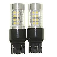 abordables -SENCART T20 (7440,7443) Moto Ampoules électriques 36W SMD 3030 1500-1800lm Ampoules LED Clignotants