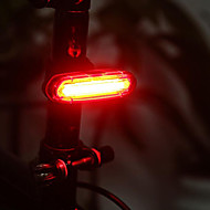 Bike Lights Waterproof Bar End lights Rear Bike Light Tail Lights LED - Cycling Rechargeable Waterproof Small Size Easy Carrying Lithium