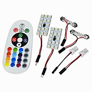 お買い得  -JIAWEN Festoon T10 車載 電球 W SMD 5050 lm インテリアライト