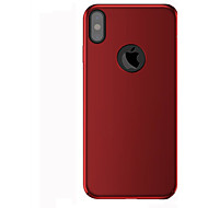 abordables Súperoferta de Precios Locos-Funda Para Apple / iPhone X iPhone X / iPhone 8 / iPhone 8 Plus Congelada Funda Trasera Un Color Dura ordenador personal para iPhone X / iPhone 8 Plus / iPhone 8