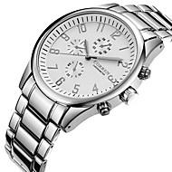 Недорогие Фирменные часы-CURREN Муж. Повседневные часы / Спортивные часы / Модные часы Творчество / Cool Нержавеющая сталь Группа Кулоны / Роскошь / На каждый день Серебристый металл