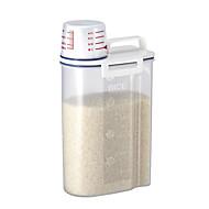 ABS Plastic Rice Storage Bin with Pour Spout 2 KG Kitchen Storage