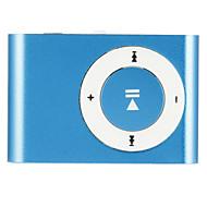 Lettore multimediale di musica mp3 mini usb clip metallica di sostegno 1-8GB micro sd tf moda
