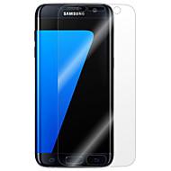 お買い得  Samsung 用スクリーンプロテクター-スクリーンプロテクター のために Samsung Galaxy S7 edge / S7 / S6 edge plus PET スクリーンプロテクター 指紋防止