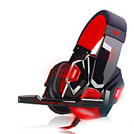 cheap Headsets & Headphones-Plextone PC780 Luminous Wired Headphones Headband With Microphone Volume Control Gaming Noise-Cancelling