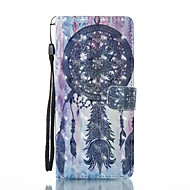 для футляра для карточек держатель кошелек с подставкой флип магнитный узор полный корпус чехол мечта ловец жесткий кожа pu для галактики