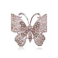 halpa -Naisten Rintaneulat Ihana minimalistisesta Metalliseos Butterfly Animal Hopea Korut Käyttötarkoitus Party Päivittäin