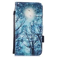 Назначение iPhone 7 iPhone 7 Plus Чехлы панели Кошелек Бумажник для карт со стендом Флип С узором Магнитный Чехол Кейс для дерево Твердый