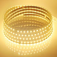 10m 220v Higt jasne led taśmy elastycznej 5050 600smd trzy kryształowe Pasek wodoodporny światło lampy ogrodowe z wtyczką zasilania ue