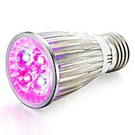 halpa Kasvivalaisimet-1kpl 800 lm E14 GU10 E27 LED-kasvivalo 4 ledit Teho-LED Punainen Sininen AC 85-265V