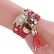 tanie Zegarki boho-Damskie Modny Zegarek na bransoletce Unikalne Kreatywne Watch Chiński Kwarcowy sztuczna Diament PU Pasmo Urok Na co dzień Artystyczny
