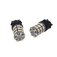 Недорогие Сигнальные огни для авто-2pcs T20 / 1157 / 3157 Автомобиль Лампы 24W SMD 1012 2400lm 120 Лампа поворотного сигнала For Универсальный Все года