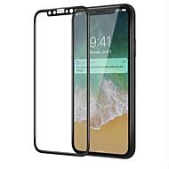 Недорогие Защитные плёнки для экрана iPhone-Защитная плёнка для экрана для Apple iPhone X Закаленное стекло 1 ед. Защитная пленка для экрана HD / Уровень защиты 9H / 3D закругленные углы