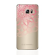 billige Galaxy S4 Etuier-Etui Til Samsung Galaxy S8 Plus S8 Transparent Mønster Bagcover Hjerte Blonde Tryk Blødt TPU for S8 Plus S8 S7 edge S7 S6 edge plus S6