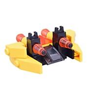 voordelige Speelgoed & Hobby-Bouwblokken Eenvoudig Vliegtuig Vechter Kinderen Geschenk