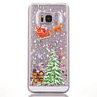 Недорогие Чехлы и кейсы для Galaxy S8 Plus-Кейс для Назначение SSamsung Galaxy S8 Plus S8 Движущаяся жидкость С узором Кейс на заднюю панель дерево Твердый ПК для S8 Plus S8