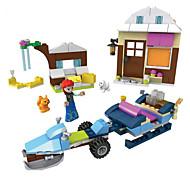 Klocki Zabawki Dom Konik Sztuk Nie określony Prezent