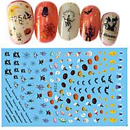 1 Nail Art tarra Halloween Uusi vuosi DIY-tarvikkeet Tarra 3-D meikki Kosmeettiset Nail Art Design