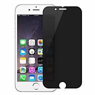 Недорогие Защитные плёнки для экранов iPhone 8-Защитная плёнка для экрана Apple для iPhone 8 Закаленное стекло 1 ед. Защитная пленка для экрана 3D закругленные углы Anti-Spy Против