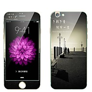 Недорогие Защитные пленки для iPhone-Защитная плёнка для экрана Apple для iPhone 7 Закаленное стекло 1 ед. Защитная пленка для экрана и задней панели Защитная пленка на всё