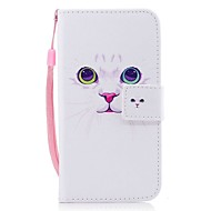 Case For Samsung Galaxy J7 (2017) J3 (2017) Wallet Card Holder Flip Pattern Magnetic Full Body Cat Hard PU Leather for J7 (2016) J7