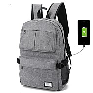 abordables Accesorios para Tablet y PC-100% Poliéster Un Color Mochilas Laptop de 14 ""