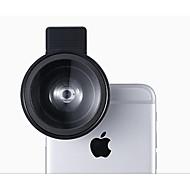 Lentille de téléphone portable Lentille Grand Angle Objectif Macro Alliage d'aluminium X10 et plus 49 0.03