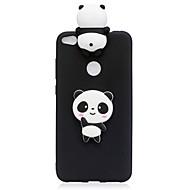Case Kompatibilitás Huawei P10 Lite P10 Minta DIY Hátlap Panda Puha TPU mert Huawei P10 Lite Huawei P10 Huawei P8 Lite (2017)