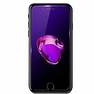 Недорогие Защитные плёнки для экранов iPhone 8-Защитная плёнка для экрана Apple для iPhone 8 Закаленное стекло 1 ед. Защитная пленка для экрана Против отпечатков пальцев Фильтр синего