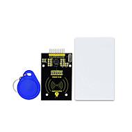 お買い得  -keyestudio mfrc522 rfid s50 fudanカードicカードモジュールarduino uno r3 mega 2560 r3用spiポート付き